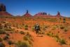 Wildcat Trail, Monument Valley (NettyA) Tags: 2017 arizona monumentvalley navajotribalpark sonya7r themittens usa utah wildcattrail travel hike hiking desert landscape hiker trail track