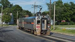 Street Running (shtx284) Tags: nikond750 nikon d750 railroad train nictd southshore michigancity indiana streetrunning