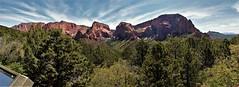 Kolob Canyons panorama (DC Products) Tags: 2017 utah roadtrip zionnationalpark kolobcanyons nationalpark nationalparks panorama