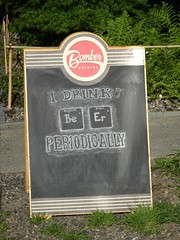 I Drink Periodically (knightbefore_99) Tags: cool beer craft adanac bomber sign awesome bc vancouver eastvan board brewery west coast art best symbol