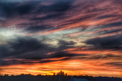 Expressive sky , (jwzw@ymail.com) Tags: sky landscape sunset nature sun light summer bright silhouette evening dark dawn weather storm dramatic outdoors dusk daylight fair