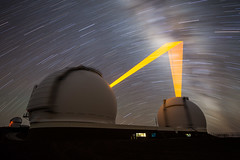 Something Different (geekyrocketguy) Tags: keck telescope telescopes observatory observatories maunakea hawaii astronomy longexposure night laser lasers adaptiveoptics ao nikon canon 1424 1424mm bigisland