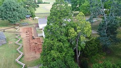 DJI_0017 (Montpelier Archaeology) Tags: indianadrone archaeology aerial fencelin fenceline southyard