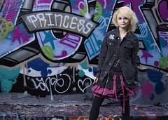 I'm a Princess! (Stephen L D'Agostino) Tags: princess urban urbanmodel leakestreet streetart