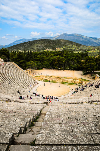 Epidaure Theater, Greece