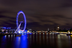 The Eye (Future-Echoes) Tags: 4star 2011 boats bridge clouds dark light london londoneye longexposure night parliament reflections river shadow sky thames tokina tokina1116mmf28 water wheel