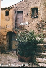CNV00027s (Cameron A. Straughan) Tags: travel tourism eccentric quirky surreal odd architecture street history angles lines culture 35mm exposures film developing 400 iso real photography traditional photographs fuji stx2 camera processing tamron zoom lens 35 mm manual colour color photos classic old school ilford taormina hill mountains sicily mount etna active volcano teatro antico di ancient greco¬roman godfather francis ford coppola italy
