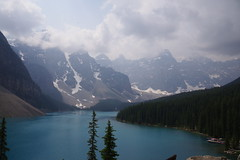 Cloudy Day at Lake Morraine (bbosica20) Tags: pentak lakemorraine canadianrockies canada absolutelystunningscapes