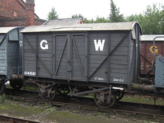 IMG_6434 - GWR V18 'Mink A' Goods Van 104621 (SVREnthusiast) Tags: severnvalleyrailway svr severnvalley severn valley railway gwrv18minkagoodsvan104621 gwr v18 minka goodsvan 104621