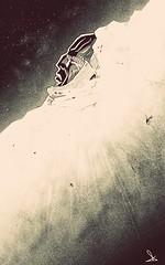 The Ancient Father of Dreams - fast digital sketch by Dino Olivieri (! / dino olivieri / www.onyrix.com) Tags: illustrazioni illustration illustrations illustrazione sketch sketches scribble space cosmo stars star travel blackwhite blanc noir monocromo moebius cartoni scifi fantascienza science fiction sciencefiction