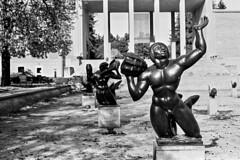 Image 5 (elsuperbob) Tags: architecture cranbrook cranbrookacademyofart elielsaarinen adox adoxcms20ii canona1 canon bloomfieldhills michigan detroit carlmilles sculpture art peristyle