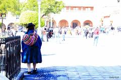 Azul (Gaby Fil Φ) Tags: ayacucho departamentoayacucho huamanga colla culturaquechua quechua perú sudamérica tradiciones trajestípicos plazadearmasdeayacucho plazas plazasdearmasdelperú latinoamérica azul