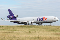 FedEx / MD11F / N617FE / LFPG 27R (_Wouter Cooremans) Tags: cdg charles de gaulle airport charlesdegaulleairport roissyairport roissy lfpg spotting spotter avgeek aviation airplanespotting fedex md11f n617fe md11