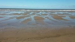 SAND RIPPLES (Jazpix) Tags: mablethorpe beach sea sand sunshine holiday peace quiet tranqullity beachhuts androidography coastal