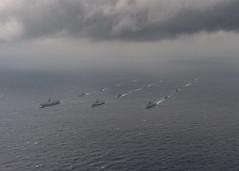 170717-N-JH929-855 (U.S. Pacific Fleet) Tags: ussnimitz cvn68 sailors aircraftcarrier usnavy deployment malabar bayofbengal