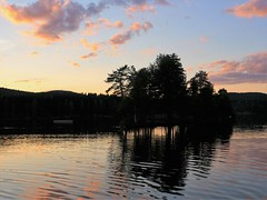 Sognsvann (Ehsan 98) Tags: evening nature landscape sognsvann oslo norway sunset sky clouds reflection water blue lake