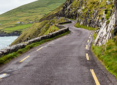 Wherever the Road Takes Us (blue5011b) Tags: road coast narrow ireland green countryside beautiful beauty winding cliffs adventure drive nikon d810
