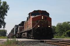 BNSF 4575 (CC 8039) Tags: bnsf csx ns trains ac44cw es44ac chesterton indiana