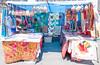 Flea Market Booth (UrbanphotoZ) Tags: booth fleamarket indian fabric bags vest elephants purses patchwork colorful geometric upperwestside manhattan newyorkcity newyork nyc ny
