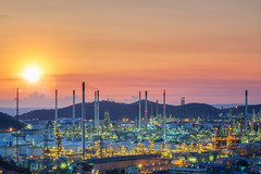 Oil tank and oil refinery factory in Thailand (anekphoto) Tags: oil refinery gas industry plant industrial chemical night factory fuel storage power energy tank metal petrochemical environment engineering tower manufacturing pollution chemistry production gasoline sky nature petroleum blue light technology liquid worker steam pipe pipeline engineer construction steel landscape smoke heavy background chimney pollute refine pollutant refinement business thailand saudiarabia uae