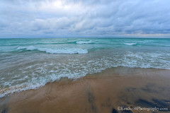 Lake Michigan ... overcast ahhh'zz (Ken Scott) Tags: breakers twilight turquoise waves sand cloudy leelanau michigan usa 2017 july summer 45thparallel hdr kenscott kenscottphotography kenscottphotographycom freshwater greatlakes lakemichigan