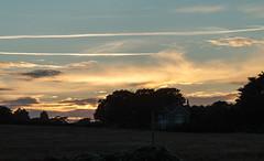 IMG_2590 Sunset, Freshwater Bay (Beth Hartle Photographs2013) Tags: isleofwight freshwaterbay sunset