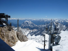 Alps Trip 0650 (mary2678) Tags: zugspitze germany europe honeymoon highest peak mountain mountains snow sky rick steves myway alpine tour