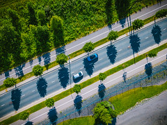 back&forth (miemo) Tags: dji mavic mavicpro abstract aerial cars drone europe finland helsinki lanes road shadows traffic trees vuosaari helsingfors uusimaa fi