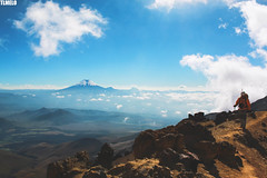 """By myself but not alone"" - Illinizas Mount - Ecuador (TLMELO) Tags: cayambe cotopaxi antisana corazon ecuador volcano vulcan vulcão equador summit cumbre keepwalking justdoit impossibleisnothing man home kneel ajoelhado crater cratera andes pequeñoalpamayo southamerica américadosul altiplano climb climber mount trekking sky céu clouds caminhada heavy hiking climbing hike backpack backpacking walking walk ice glacier glaciar gelo snow neve cume landscape nature natureza paisagem trilha mountain montanha mountaineer panorama illinizas"