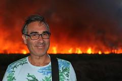 Burning Hot (daniel.virella) Tags: fire burning sugarcane fields me eu daniel byzé richardtoll senegal africa westafrica