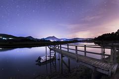 MURUETA (T.Miravalles) Tags: urdaibai canon7dmarkii sigma10mm longexposure largaexposición nocturna gaua izarrak estrellas cielo mar agua azul naturaleza angular