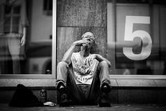 Five originals (AlphaAndi) Tags: monochrome menschen menschenbilder mono leute people personen portrait peoples portraits urban trier tiefenschärfe wow dof deepoffield sony streetshots schwarzweis street streets streetshooting streetportrait sw sonya7ii streetphotographie strase strasenleben blackandwhite blackwhite bw bokeh bokehlicious bettler beggar fullframe face gesicht nahaufnahme city closeup