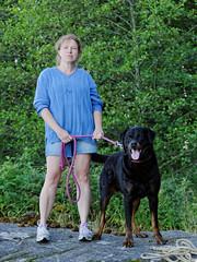 IMG_2117 (Jacek Klimczyk) Tags: jklimczykyahoocom jacek klimczyk sweden sverige canon canon60d pies dog animals people woman kobieta angry agresi