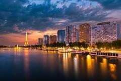 Eiffel tower (b2bphoto) Tags: eiffeltower latoureiffel paris nikon sunset sky city