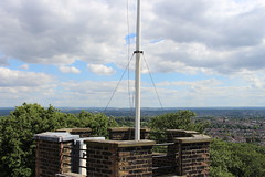 Sevendroog Castle,36 (doojohn701) Tags: castle flag pole air conditioner roof uk