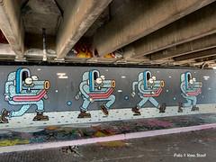 Graffiti Amsterdamse Brug 15-7-17 (kees.stoof) Tags: graffiti amsterdamse brug amsterdam amsterdamoost zuiderzeeweg