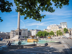 特拉法加廣場(Trafalgar Square) (newagefanlee) Tags: 倫敦 london