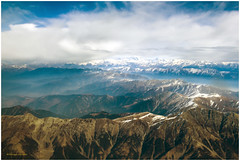 Grades to salvation (MaheshChopde) Tags: mountains snow grey aerial landscapes grades salvation rocks formation peak nature beautiful blue sky clouds srinagar jk india winters outdoors moutainpeak canon
