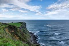 Costa de Gozón, Asturias (ccc.39) Tags: asturias gozón podes elcampo costa acantilados mar cantábrico cielo olas horizonte sea seascape
