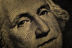 George Washington on Dollar Bill (Tovar Photography) Tags: macro d3200 nikon extension tube kenko 50 50mm f2 e series lightroom up close magnify magnification zoom george washington dollar bill 1 one currency usa us president money