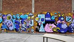 Toy & Resto / Afrikalaan - 16 jul 2017 (Ferdinand 'Ferre' Feys) Tags: gent ghent gand belgium belgique belgië streetart artdelarue graffitiart graffiti graff urbanart urbanarte arteurbano resto ferdinandfeys