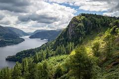 Light on Raven Crag. (Tall Guy) Tags: tallguy uk ldnp lakedistrict cumbria ravencrag thirlmere nationalpark fells unescoworldheritagesite unesco world heritage site