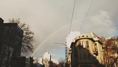 Rainbow in the city (Wal Wsg) Tags: rainbow rainbows arcoiris canoncanoneosrebelt3 canon argentina buenoaires caba villacrespo