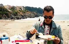 San Francisco, CA. 7.4.17 (arterial spray) Tags: 2017 35mm annual bakerbeach bbq beach beachbake california candid dalliswillard event f100 film friends grill kodak nikon ocean pacific portra400 presidio sanfrancisco sanfranciscocobras sand