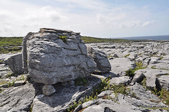 Caught between a rock and etc. (mcgrath.dominic) Tags: glacialerratics karstlandscape limestone theburren coclare