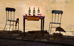 drunk shadows (somewhere in Tuscany) (simo m.) Tags: tuscany wines shadow tasting