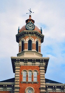 Chardon  Ohio  ~ Geauga County Courthouse ~ HIstoric