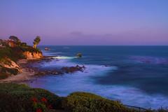 Corona Del Mar at twilight. (UNTIL THEN .......) Tags: beach coronadelmar twilight sunset