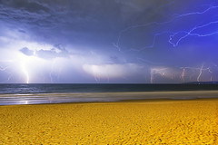Lightning Storm over Alum Chine Beach Bournemouth (mpelleymounter) Tags: bournemouthbeach thunderstorm lightning seascape visitdorset dorset dorsetlandscapes alumchine lightningstorm flash longexposure beach nighttimephotography markpelleymounter wwwphotomarkscouk ukweather uksummer summerstorm groundstrikelclouds storm lovedorset stormyweather