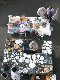 Rares gegen Bares auf dem Trödelmarkt Lambertsberg - PAP